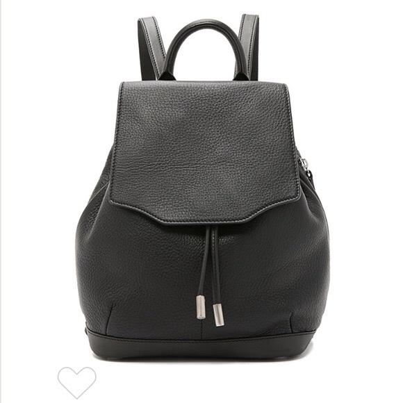 rag & bone Handbags - Rag & Bone Pilot Backpack Black Leather